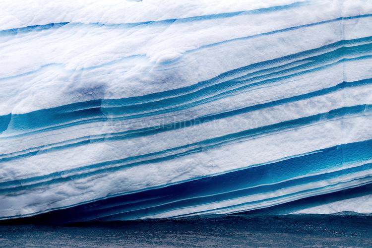 Stripey Iceberg, Antarctica