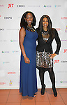 Honoree Siamanda Chege poses with Color of Beauty Awards honoring supermodel Beverly Johnson on February 4, 2014 at Holy Apostles, New York City, New York. (Photo by Sue Coflin/Max Photos)