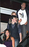 Mark Salling, Chris Colfer, Jenna Ushkowitz celebrating the release of the smash hit CD, glee - the music season one with an appearance at Borders Columbus Circle in New York City. November 3, 2009<br /> © Walter McBride