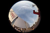Fa&ccedil;ade and interior aspects of ARIZONA CARDINAL STADIUM. STADIUM ARIZONA CARDINALS, during the pre-season actions and the 2013 Guinness International Champions Cup. Stadium of the University of Phoenix, 08/01/2013.<br /> (Photo: Luis GutierrezNortePhoto.com)...<br /> Aspectos de fachada e interiores de ESTADIO DE LOS CARDENALES DE ARIZONA. STADIUM ARIZONA CARDINALS, durante las acciones de pretemporada y  del 2013 Guinness International Champions Cup.  estadio de la Universidad de Phoenix, el 01/08/2013.<br /> (Photo: Luis GutierrezNortePhoto.com )