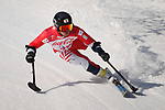 Hiraku Misawa (JPN), <br /> MARCH 13, 2018 - Alpine Skiing : <br /> men's Super Combined  Standing <br /> at Jeongseon Alpine Centre  <br /> during the PyeongChang 2018 Paralympics Winter Games in Pyeongchang, South Korea. <br /> (Photo by Sho Tamura/AFLO)