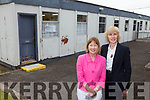 Presentation Secondary School in Listowel is has been granted funding of almost €1m for a new building replacing the 40 year old prefabs. Pictured were: Margaret Walsh (Deputy Principal) and Eileen Kennelly (Principal).