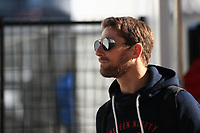 31st October 2019; Circuit of the Americas, Austin, Texas, United States of America; F1 United States Grand Prix, team arrival day; Haas F1 Team, Romain Grosjean - Editorial Use