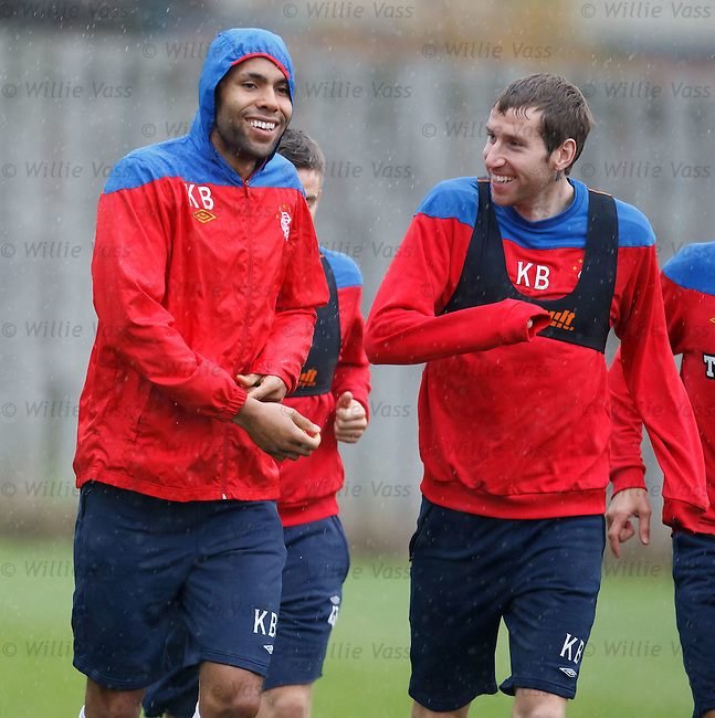 Kyle Bartley and Kirk Broadfoot