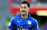Shinji Okazaki of Leicester City during the Premier League match at Anfield Stadium, Liverpool. Picture date: September 10th, 2016. Pic Simon Bellis/Sportimage