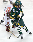 Erin Barley-Maloney (Vermont - 27) - The University of Vermont Catamounts defeated the Boston College Eagles 5-1 on Saturday, November 7, 2009, at Conte Forum in Chestnut Hill, Massachusetts.