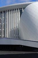Philharmonie an der Place d'Europe auf em Kirchberg, Architekt Christian de Portzamparc, Stadt Luxemburg, Luxemburg