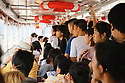 Public transportation on the Chao Phraya River, Bangkok Thailand.