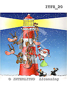 Fabrizio, Comics, CHRISTMAS SANTA, SNOWMAN, paintings, ITFZ20,#x# Weihnachten, Navidad, illustrations, pinturas