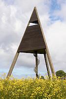 Wasserturm Svaneke Bake auf der Insel Bornholm, D&auml;nemark, Europa<br /> watertower Svaneke bake, Isle of Bornholm Denmark