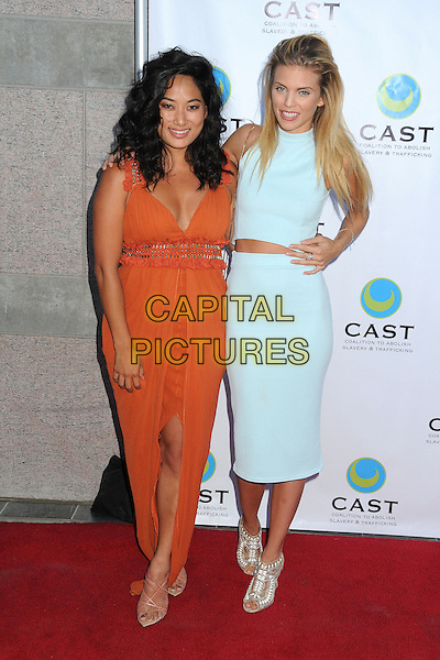 29 May 2014 - Los Angeles, California - Chloe Flowers, AnnaLynne McCord. 16th Annual &quot;From Slavery to Freedom&quot; Gala Event held at The Skirball Center.  <br /> CAP/ADM/BP<br /> &copy;Byron Purvis/AdMedia/Capital Pictures