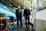 Stockholm 2014-11-16 Ishockey Hockeyallsvenskan AIK - IF Bj&ouml;rkl&ouml;ven :  <br /> AIK:s VD Johan Segui tillsammans med AIK:s tr&auml;nare huvudtr&auml;nare Peter Nordstr&ouml;m efter matchen mellan AIK och IF Bj&ouml;rkl&ouml;ven <br /> (Foto: Kenta J&ouml;nsson) Nyckelord:  AIK Gnaget Hockeyallsvenskan Allsvenskan Hovet Johanneshov Isstadion Bj&ouml;rkl&ouml;ven L&ouml;ven IFB portr&auml;tt portrait tr&auml;nare manager coach diskutera argumentera diskussion argumentation argument discuss