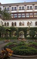 Europe/Espagne/Iles Canaries/Tenerife/Santa Cruz de Tenerife: Hoel Mencey le patio
