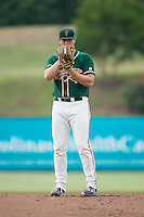 Greensboro Grasshoppers starting pitcher Tyler Kolek (30) looks to his catcher for the sign against the Kannapolis Intimidators at CMC-Northeast Stadium on June 9, 2015 in Kannapolis, North Carolina.  The Intimidators defeated the Grasshoppers 6-4.  (Brian Westerholt/Four Seam Images)