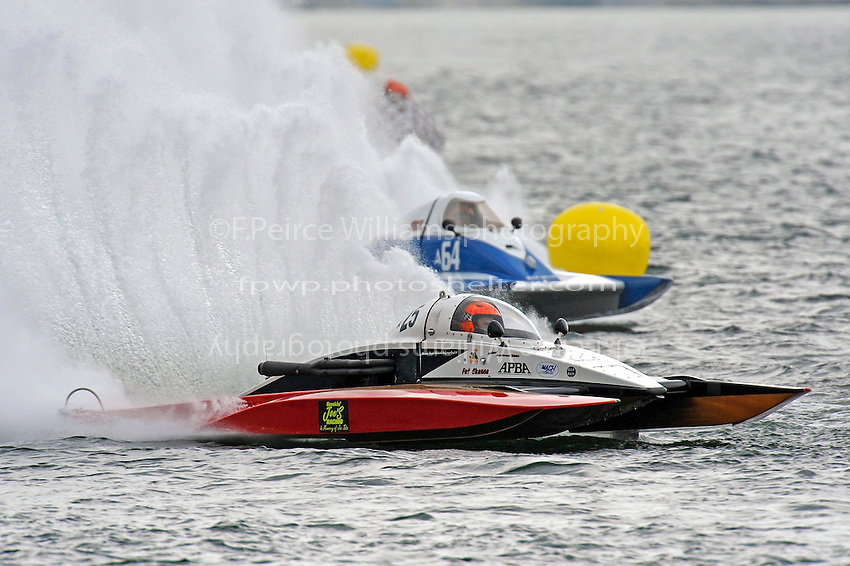 """Andrew Tate, A-25 """"Fat Chance"""" and A-64 """"Blue Devil""""  (2.5 MOD class hydroplane(s)"""