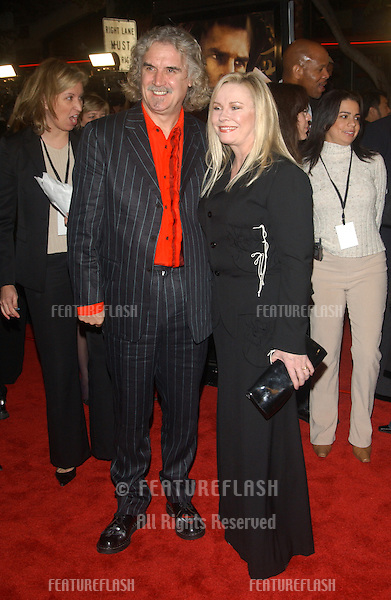 BILLY CONNOLLY & wife PAMELA STEPHENSON at the Los Angeles premiere of his new movie The Last Samurai..December 1, 2003