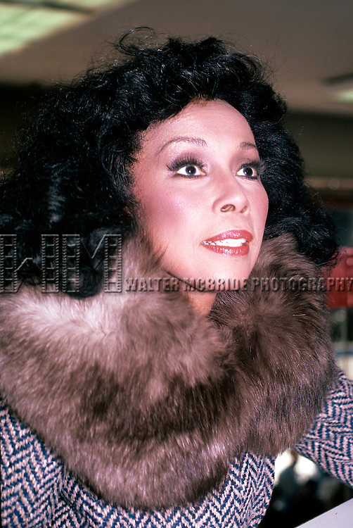 Diahann Carroll in 1986.