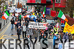the Right 2 Water protest in Killarney on Saturday