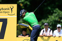 Alejandro Canizares (ESP) on the 7th tee during Round 3 of the Maybank Malaysian Open at the Kuala Lumpur Golf & Country Club on Saturday 7th February 2015.<br /> Picture:  Thos Caffrey / www.golffile.ie
