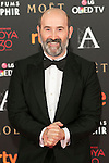 Actor Javier Camara attends 30th Goya Awards red carpet in Madrid, Spain. February 06, 2016. (ALTERPHOTOS/Victor Blanco)