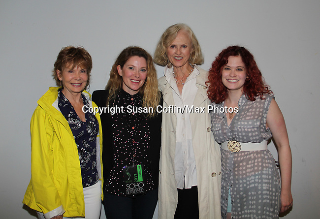 -  Seeing is Believing: Women Direct at its East Coast Premiere at Soho International Film Festival on June 19, 2017 in New York City, New York.(Photos by Sue Coflin/Max Photos) Julia Barr, Cady McClain, Jill Larson, Alison Hirschlag (daughter of Julia) -