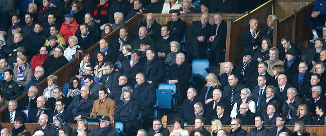 Faces in the directors box
