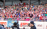 Fans during the Rural Rumble on Friday night, August 8, 2014 at Churchill County Fairgrounds in Fallon, Nevada.