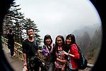 my hiking crew. mt. huangshan (yellow mountain)