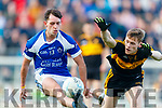 Gavin White Dr Crokes in action against Jack Savage  Kerins O'Rahillys in the Kerry Senior Football County Championship Semi Final between Dr Crokes and Kerins O'Rahillys at Austin Stack Park on Sunday.