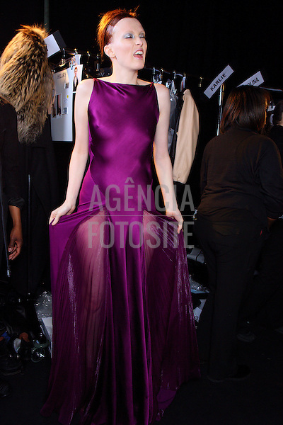 Nova Iorque, EUA &ndash; 02/2014 - Desfile de Donna Karan durante a Semana de moda de Nova Iorque - Inverno 2014. <br /> Foto: FOTOSITE