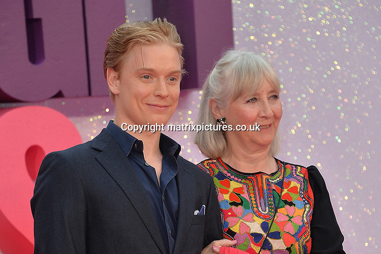 NON EXCLUSIVE PICTURE: MATRIXPICTURES.CO.UK<br /> PLEASE CREDIT ALL USES<br /> <br /> WORLD RIGHTS<br /> <br /> English &quot;The Riot Club&quot; actor Freddie Fox and &quot;Unforgotten&quot; actress Gemma Jones attend the world premiere of &quot;Bridget Jones's Baby&quot; at Leicester Square in London.<br /> <br /> SEPTEMBER 5th 2016<br /> <br /> REF: JWN 162864