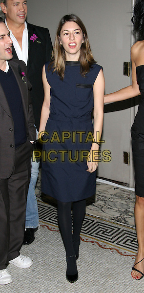SOFIA COPPOLA.The 11th annual OUT100 Awards Celebration at Capitale, New York, NY..November 11th, 2005.Photo: Jackson Lee/Admedia/Capital Pictures.Ref: JL/ADM.full length blue sleeveless dress.www.capitalpictures.com.sales@capitalpictures.com.© Capital Pictures.