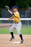 July 30, 2009:  Ty Summerlin of the State College Spikes during a game at Russell Diethrick Park in Jamestown, NY.  State College is the NY-Penn League Short-Season Class-A affiliate of the Pittsburgh Pirates.  Photo By Mike Janes/Four Seam Images
