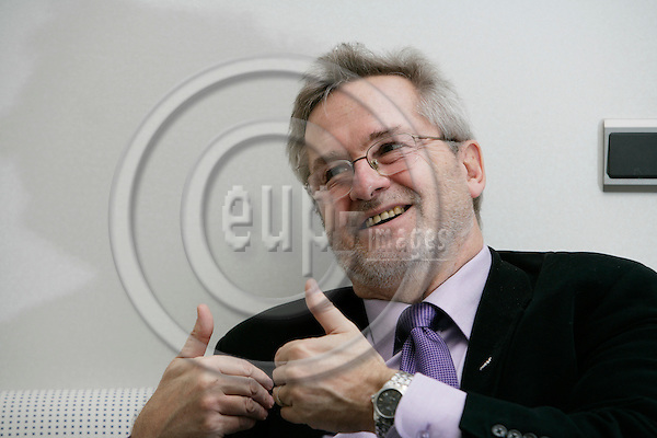 BRUSSELS - BELGIUM - 08 NOVEMBER 2006 -- Jan ANDERSSON, MEP, Socialist Group in the European Parliament.   PHOTO: ERIK LUNTANG / EUP-IMAGES