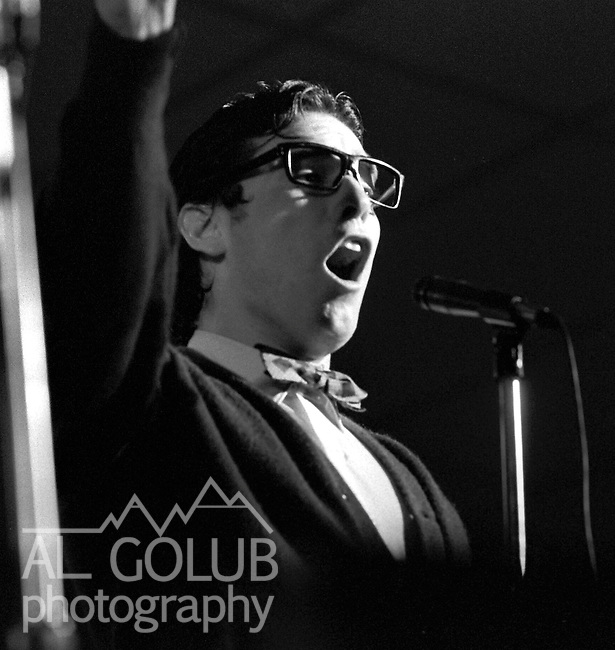 Gary Murphy of Butch Whacks and the Glass Packs, Modesto,Ca,March 8th, 1974 At The California Ballroom Rockn' Chair Productions..Photo by Al Golub/Golub Photography