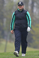 Nathalie Borg (SWE) on the 1st tee during Round 1 of the Irish Girls U18 Open Stroke Play Championship at Roganstown Golf &amp; Country Club, Dublin, Ireland. 05/04/19 <br /> Picture:  Thos Caffrey / www.golffile.ie