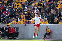 Sandy, UT - Saturday April 14, 2018: Arin Gilliland during a regular season National Women's Soccer League (NWSL) match between the Utah Royals FC and the Chicago Red Stars at Rio Tinto Stadium.
