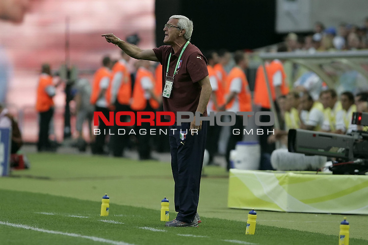 FIFA WM 2006 -  Gruppe E Vorrunde ( Group E )<br /> Play   #25 (17-Jun) - Italien - USA 1:1<br /> <br /> TRAINER COACH LIPPI<br /> <br /> <br /> Foto &copy; nordphoto