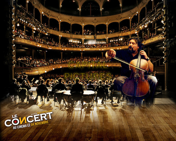 POSTER AD ART.in Le concert (The Concert) (Orchestra!).*Filmstill - Editorial Use Only*.CAP/FB.Supplied by Capital Pictures.
