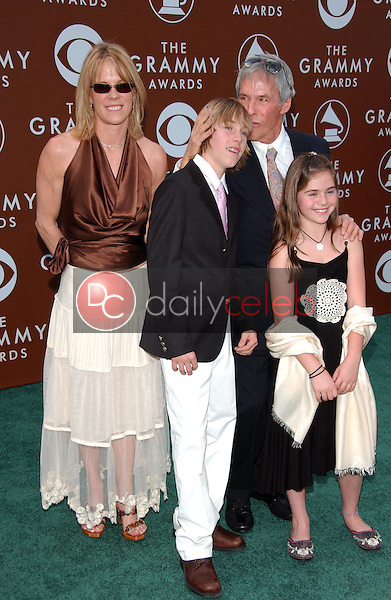 Burt Bacharach and family<br />at the 48th Annual GRAMMY Awards. Staples Center, Los Angeles, CA. 02-08-06<br />Dave Edwards/DailyCeleb.com 818-249-4998