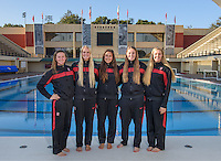 Stanford, Ca - Thursday, January 22, 2015: Stanford Women's Waterloo Team Photo.