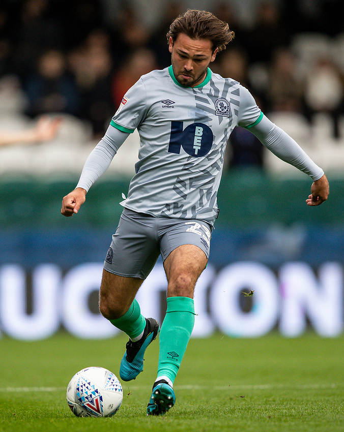 Blackburn Rovers' Bradley Dack <br /> <br /> Photographer Andrew Kearns/CameraSport<br /> <br /> The EFL Sky Bet Championship - Queens Park Rangers v Blackburn Rovers - Saturday 5th October 2019 - Loftus Road - London<br /> <br /> World Copyright © 2019 CameraSport. All rights reserved. 43 Linden Ave. Countesthorpe. Leicester. England. LE8 5PG - Tel: +44 (0) 116 277 4147 - admin@camerasport.com - www.camerasport.com