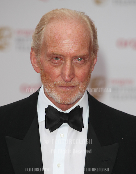 Charles Dance arriving for the TV BAFTA Awards 2013, Royal Festival Hall, London. 12/05/2013 Picture by: Alexandra Glen / Featureflash