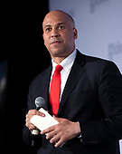 United States Senator Cory Booker (Democrat of New Jersey) makes remarks at the Center for American Progress' 2018 Ideas Conference at the Renaissance Hotel in Washington, DC on Tuesday, May 15, 2018.<br /> Credit: Ron Sachs / CNP<br /> (RESTRICTION: NO New York or New Jersey Newspapers or newspapers within a 75 mile radius of New York City)