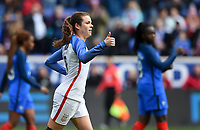 Harrison, N.J. - Sunday March 04, 2018:  during a 2018 SheBelieves Cup match between the women's national teams of the United States (USA) and France (FRA) at Red Bull Arena.