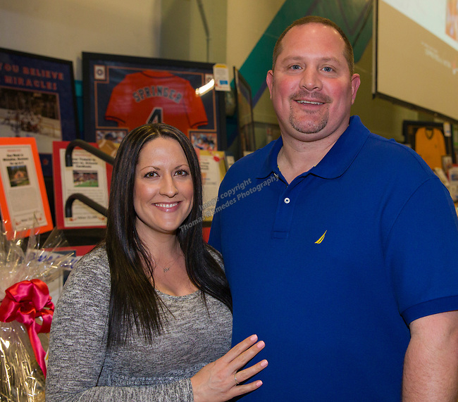 Leslie Pace and Gary Archie during the 38th Annual Jack T. Reviglio Cioppino Feed and Auction at the Boys & Girls Club in Sparks on Saturday, February 24, 2018.