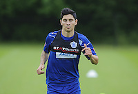 Alejandro Faurlin of QPR in training