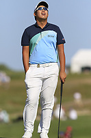 Byeong Hun An (KOR) putts on the 17th green during Thursday's Round 1 of the 118th U.S. Open Championship 2018, held at Shinnecock Hills Club, Southampton, New Jersey, USA. 14th June 2018.<br /> Picture: Eoin Clarke | Golffile<br /> <br /> <br /> All photos usage must carry mandatory copyright credit (&copy; Golffile | Eoin Clarke)