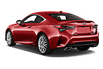 Car pictures of rear three quarter view of 2019 Lexus RC 300h-Privilege-Line 2 Door Coupe Angular Rear