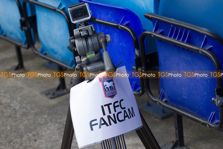 Ipswich Town fan cam - Ipswich Town vs Nottingham Forest - Sky Bet Championship Football at Portman Road, Ipswich, Suffolk - 25/04/15 - MANDATORY CREDIT: Ray Lawrence/TGSPHOTO - Self billing applies where appropriate - contact@tgsphoto.co.uk - NO UNPAID USE